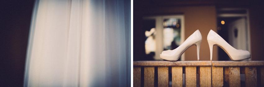 cipele i vjenčanica detalji