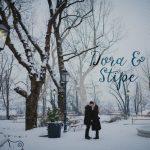 vjenčanje na snijegu